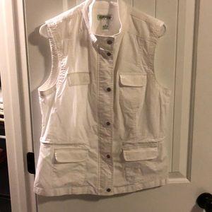 White 4 pocket Vest by Orvis